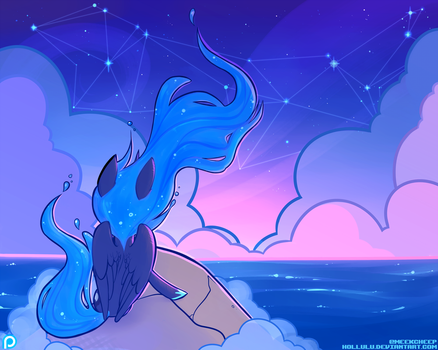 Lunar Tides - Patreon-Exclusive Print! by Hollulu