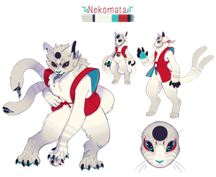 Guest Designs|Toradae_Nekomata_AUCTION_CLOSED by BagelHero-Works
