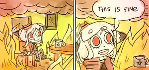 This is fine by Luminixity