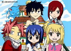 Fairy Tail Strongest Team Kids by delacruzifixion