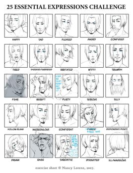 Prince-tastic - 25 Expressions by kimiko