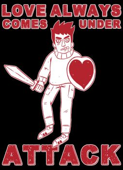 Love always comes under attack by Justagast