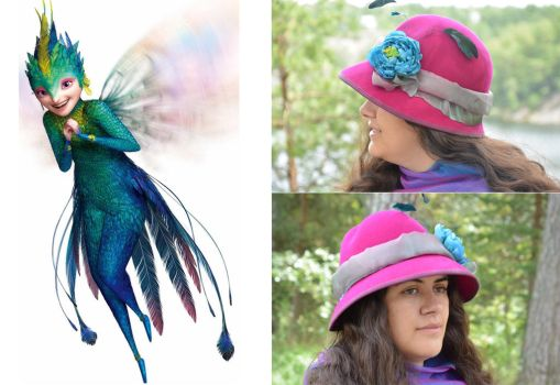 Hat art - Rise of the Guardians,Tooth fairy by IsabellaFaleno