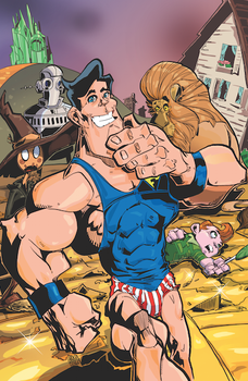 Fleischer Cover Inks and Colors by haroldgeorge-gsting