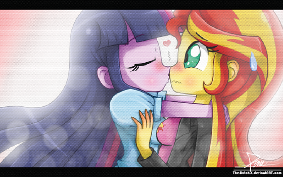 .:Only a Little Kiss:. by The-Butcher-X