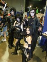 Comic Con Goths by Jarrak