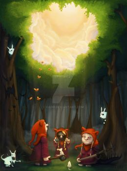 Enchanted forest by Cado