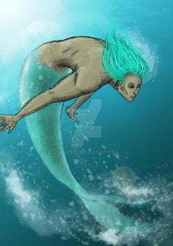 Merman  by leara07