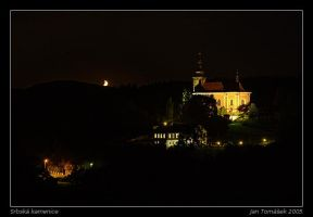 Srbska Kamenice at Night by semik