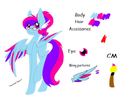 Painting Spark ref sheet by meoconchi