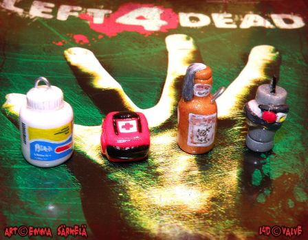 Left 4 Dead charms by ZombiDJ
