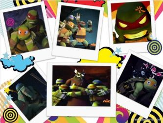 fun times- tmnt2012 collage by silverwolfygirl2