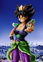 Broly Gender Swap ! by Maniaxoi