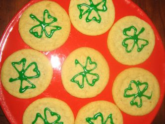 St Patrick's Day Cookies by DavisJes