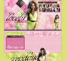 Order Layout ft. Zendaya Coleman #39 by BebLikeADirectioner