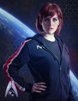 Commander Jane Shepard of The Systems Alliance by CosplayInABox