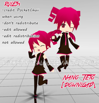 [MMD] Nano Teto [DL] by iiPocket