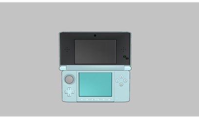 MMD Nintendo 3DS by amiamy111