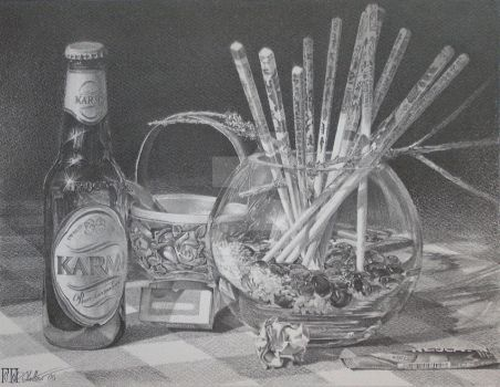 Still Life with Cigarettes