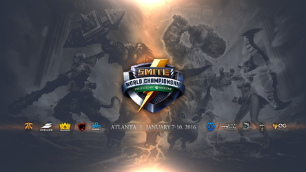 Smite World Championship 2016 by tomtomss