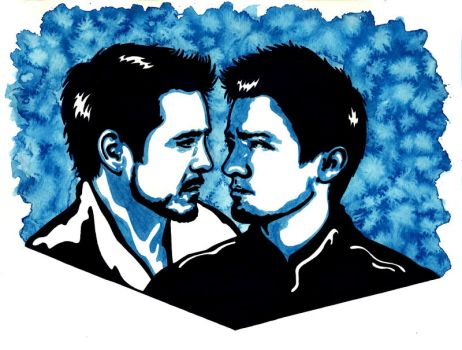 Clint and Tony 2 by weedenstein