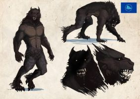 werewolves of the world: pacific fisher by Senkkei