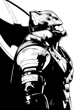 BvS - Armored Batman by DynamixINK