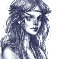 Daily Sketch: Fairy by dimary