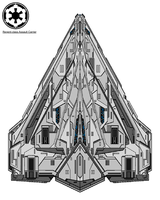 Regent-class Assault Carrier by ProjectWarSword