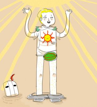 Praise the Sun by ArsenicPencil