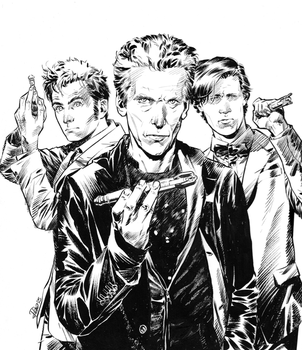 Doctor Who comics UK cover by elena-casagrande