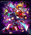 PASWG - Panty and Stocking Fan Art by Yumoe