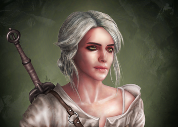 Cirilla, the Lion Cub of Cintra by MatieTR