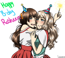 (Snk) Happy B-day Rosheen!!! by DelightfulDaydreamrr
