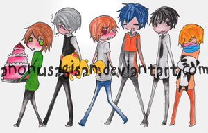 Celebration-Junjou Group DONE by AnonUsagiSan