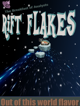 Rift Flakes Cereal Box Front Side by BlueRav3Pony