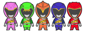 Additional Dino Charge Ranger by Lysergic44