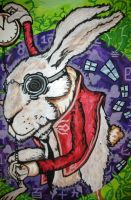 White Rabbit by Rayjmaraca