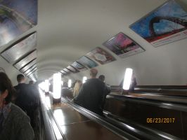 Moscow Escalator by LoneWolf363
