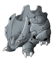 [Type Collab] #111 Rhyhorn