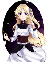 Pocket mirror: lissette by River-Moei