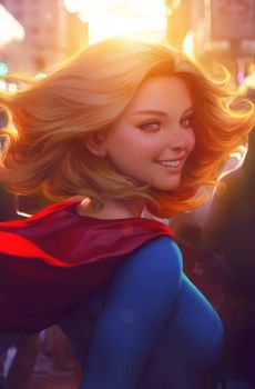 Supergirl Next Door by Artgerm
