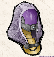 Tali'Zorah Vas Normandy by Tywyso