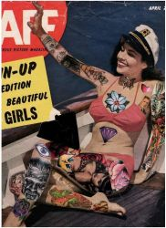 tattooed pin up girl by jolienoggle