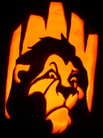 The Awesome Scar Pumpkin by johwee