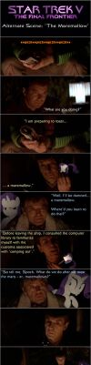 Star Trek V: The Maremallow by AtomicGreymon