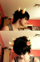 sollux horns test by kerii-tan