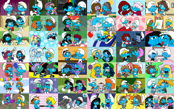 Smurfs OCs Project by Kiss-the-Iconist