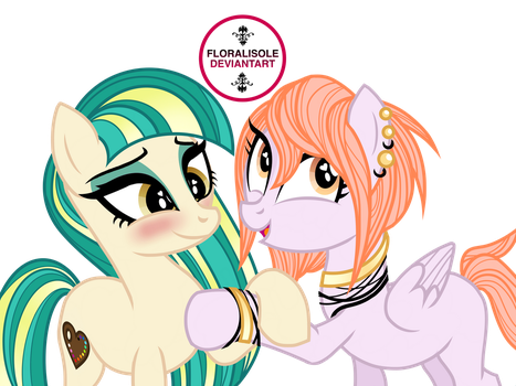 Vask is such a flirt  by Floralisole