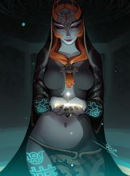 Midna's True Form by vashperado